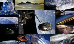 私たちの家から地球。-私たちの宇宙飛行士の写真