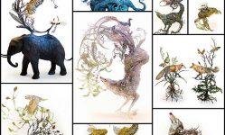 Surreal-Animal-Sculptures-Fuse-the-Intricate-Beauty-of-Earth-with-Untamed-Beasts---My-Modern-Met