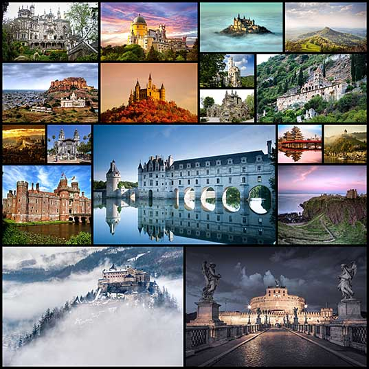 素晴らしい現実:世界で最も美しい城