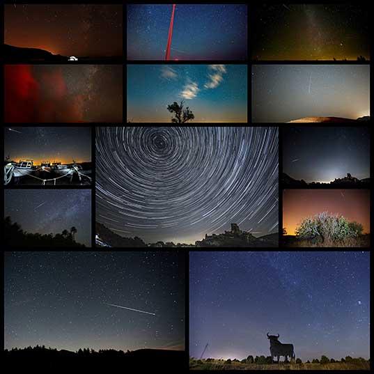 過去7年間の最も壮観なペルセウス座流星群