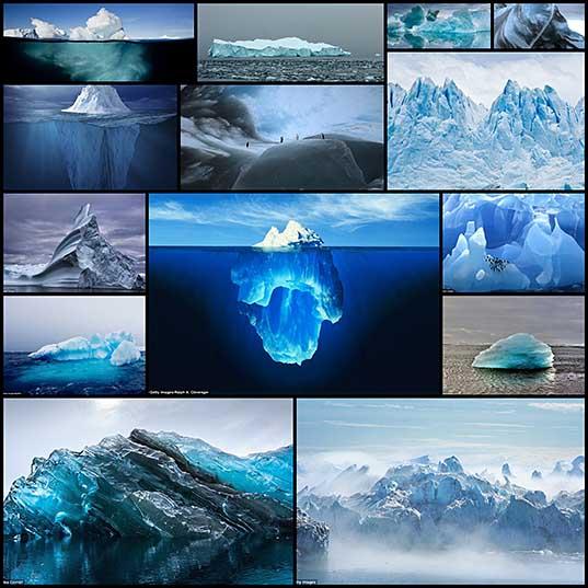 どのように氷山の世界で最も古いです