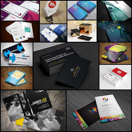 Awesome Professionally Designed Business Cards (10 Examples)  Graphics Design  Design Blog