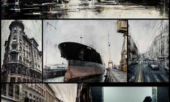 New Cityscapes in Motion Painted by Valerio D'Ospina  Colossal