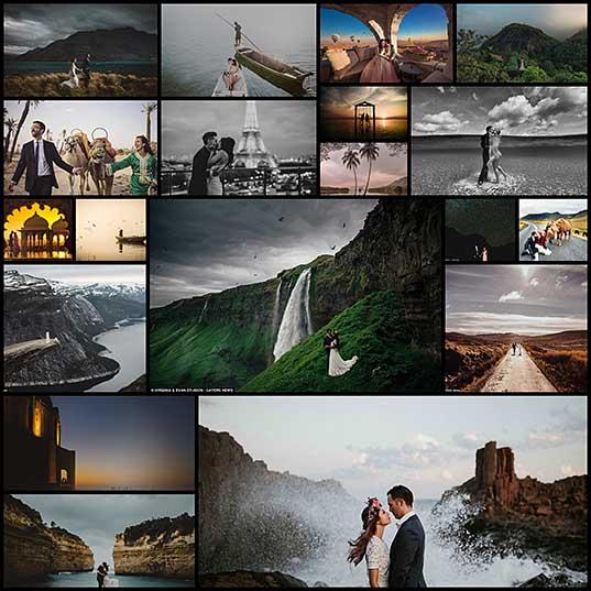 最もロマンチックな結婚式の目的地は、2016年に写真撮影と命名します