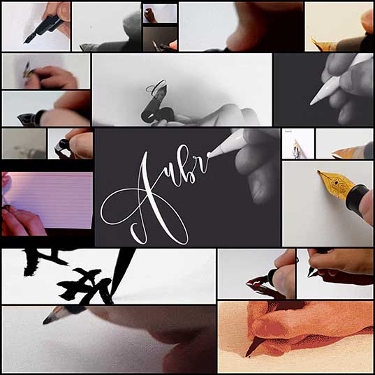 30 Beautiful Calligraphy GIFs You Can't Stop Watching