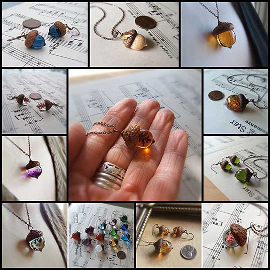these-glass-acorn-pendants-made-with-real-acorn-caps-are-the-perfect-autumn-accessory-bored-panda