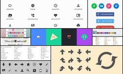 20-free-pure-css-icon-sets