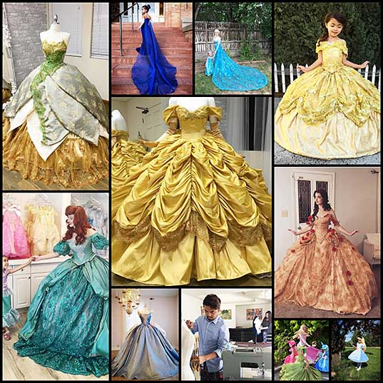 this-dad-makes-disney-inspired-dresses-for-his-kids-and-they-look-too-good-to-be-real-bored-panda