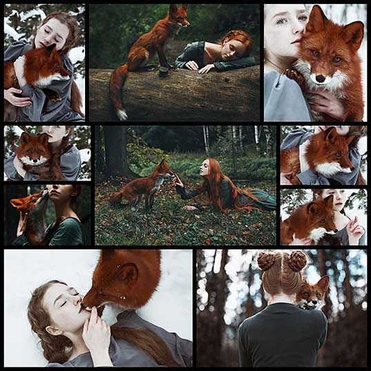 dreamy-portraits-of-redheads-paired-with-a-fiery-fox-my-modern-met