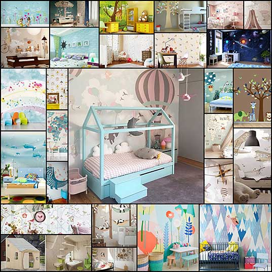 27-cute-kids-room-wallpaper-ideas-design-swan