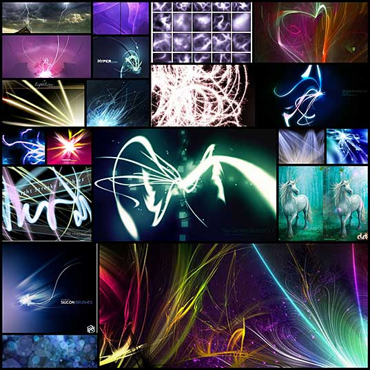 20-free-light-effects-brush-sets-for-photoshop