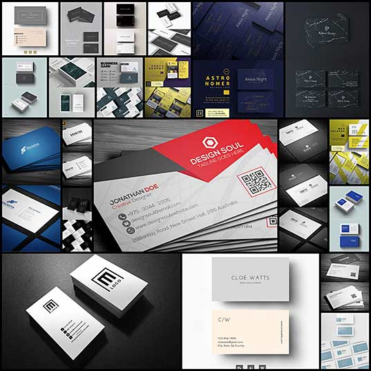 21 Creative Minimal Business Cards Design Inspiration Design Blog