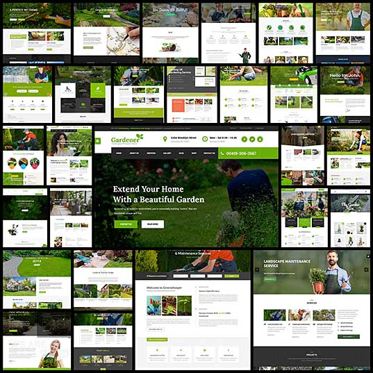 30+ Best Gardening and Landscaping WordPress Themes - freshDesignweb_1