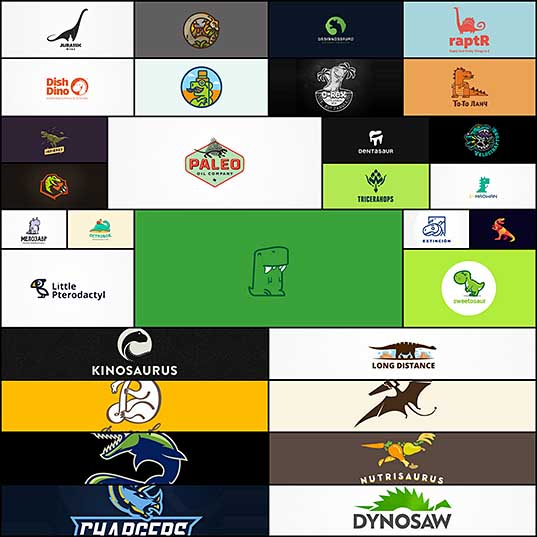 30 Exotic Examples Of Dinosaur Logo Designs Naldz Graphics