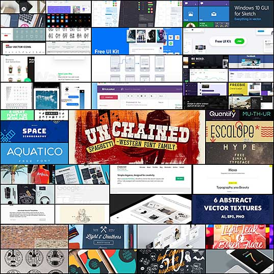 50 Free Resources for Web Designers for February 2017