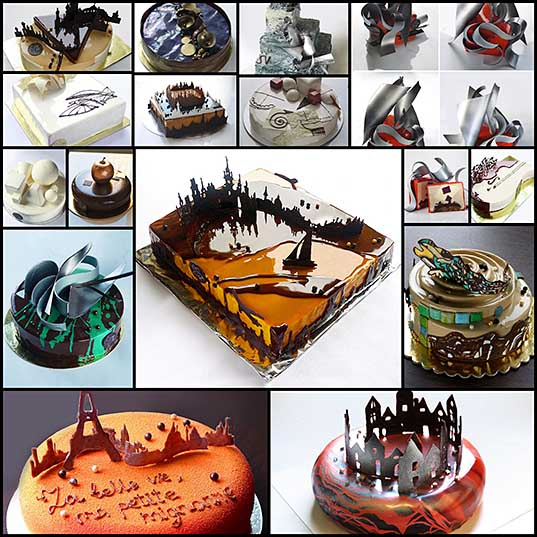 Artistic Cakes by Architect and Pastry Chef Marie Oiseau