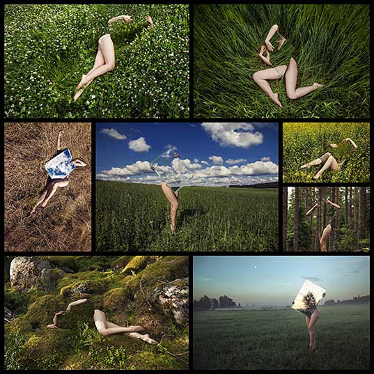Conceptual Photography Examines the Human Form and Nature