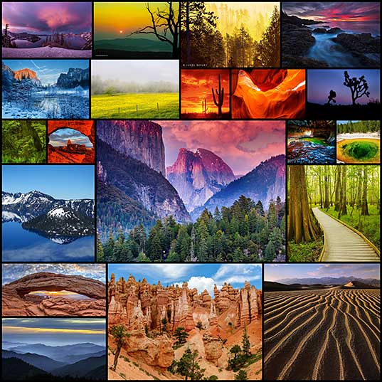 National Park Photography Celebrates Rainbow-Colored USA Lands