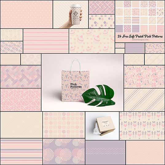 Pink Patterns 18 Geometric and Decorative Designs to Download Free