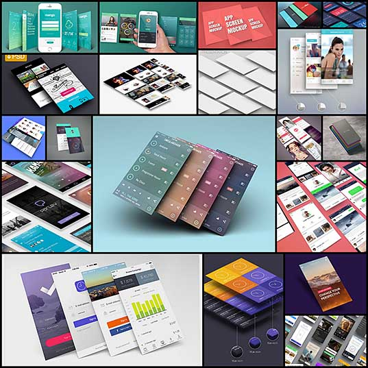 20 App Screen Mockups For Free Naldz Graphics