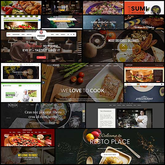 20 Best Food & Restaurant Joomla Themes