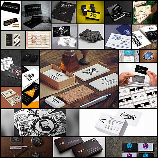 25+ Beautiful Barber Business Card Designs Naldz Graphics