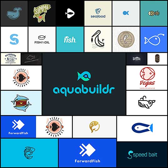 27 Fishey Logos Creativeoverflow