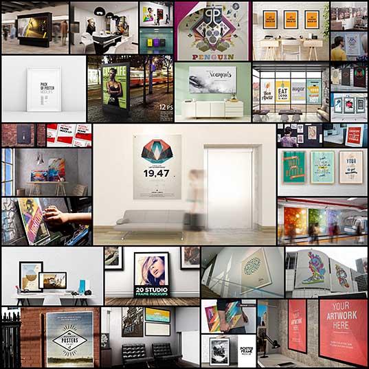 30+ Best Poster Mockup Templates Design Shack