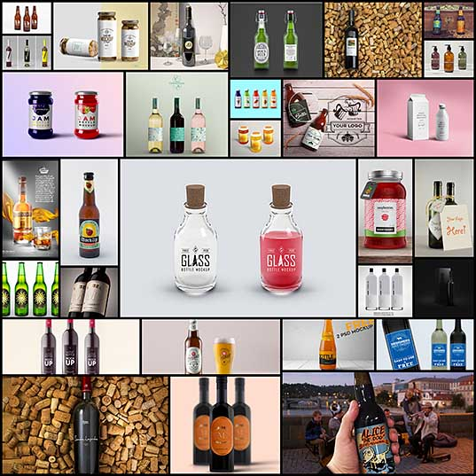 30 Free Bottle Mockups For Stunning Presentations Naldz Graphics