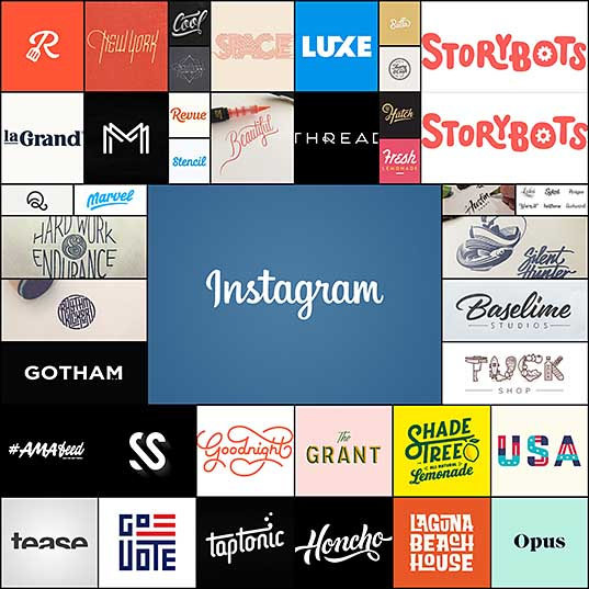 40 Typography Based Logos Creativeoverflow