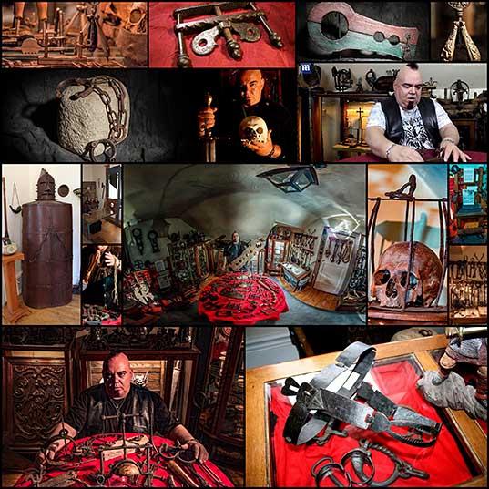 拷問メーカー:カナダの収集と拷問の道具を使用しています