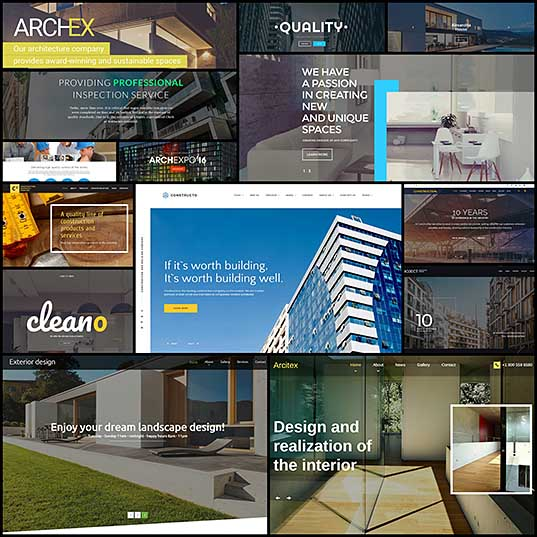 14 Architecture Website Templates of 2017