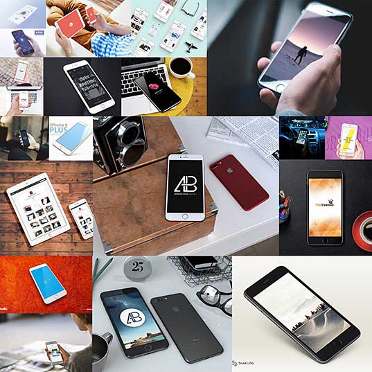 20 Free Photorealistic iPhone Mockups for Your Mobile Designs