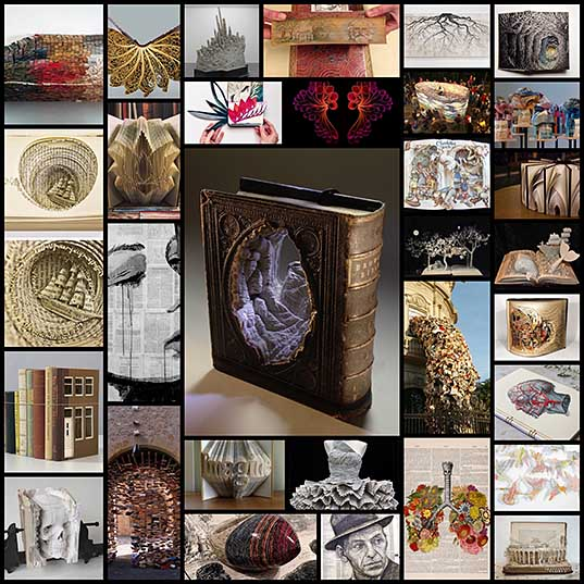 30 Art Made Out of Books Puts New Spin on Concept of Book Art