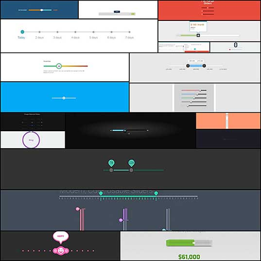 CSS Range Sliders 20 Impressive Designs