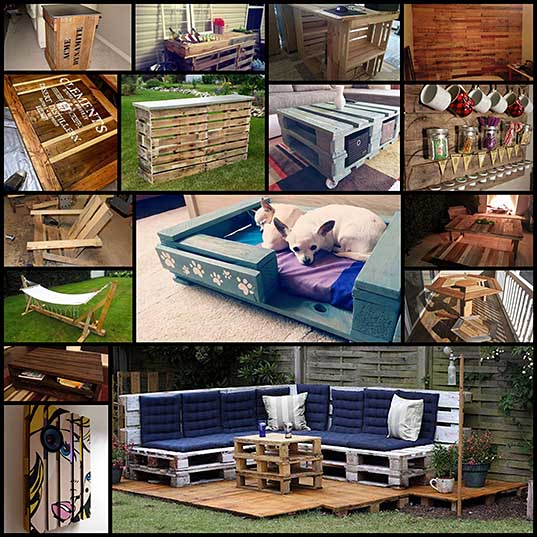 You Can Make Just About Anything Using Mere Wood Pallets! (25 pics) - Izismile