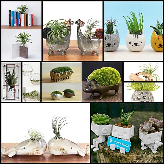 10 New Creative Planter for this Spring – Design Swan