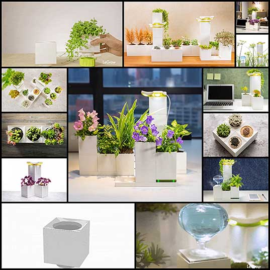 13 Planter Boxes Shaped Like Cubes Let You Grow Your Own Indoor Garden