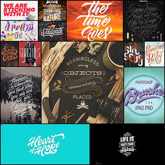 15 Best Remarkable Typography Design For Inspiration Inspiration Design Blog