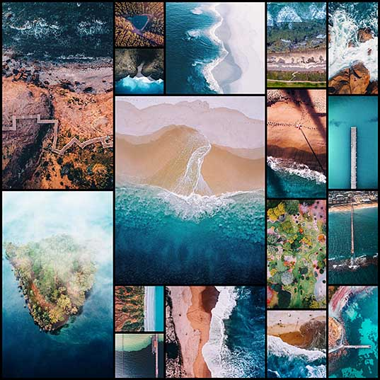 17 Aerial View of South Australia Presented in Drone Photography Series