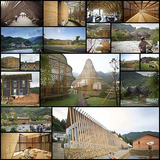 19 Incredible Bamboo Architecture in Baoxi, China Due to Bamboo Biennale