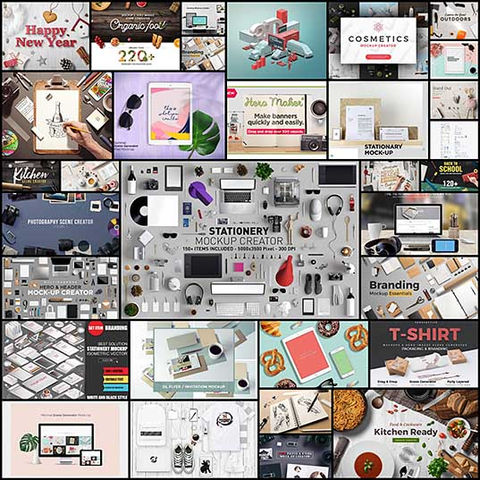 30+ Best Scene and Mockup Generators of 2017 Design Shack