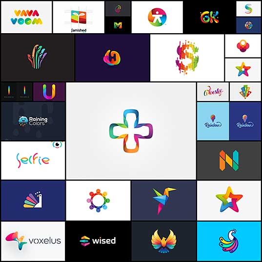 30 Crazy Colorful Logos Creativeoverflow