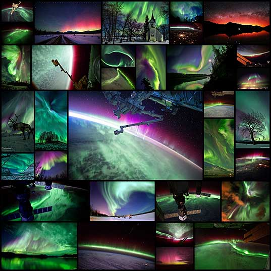 The 33 Best Aurora Photos NASA Has Ever Featured «TwistedSifter