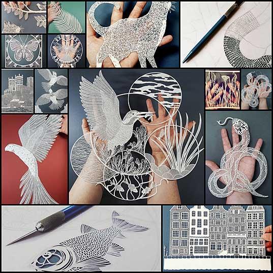 Скульптуры из бумаги (15 фото + видео) » Триникси