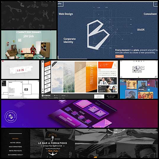 Webdesign Inspiration 10 Unusual Navigation Menus NOUPE