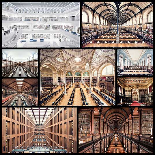 Palaces of Self-Discovery Amazing Libraries Across Europe by Thibaud Poirier «TwistedSifter