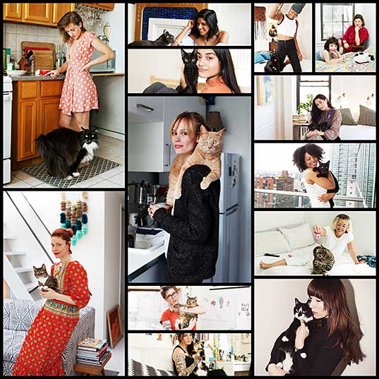 I've Photographed More Than 180 Girls And Their Cats To Prove That Cat Ladies Are Awesome Bored Panda