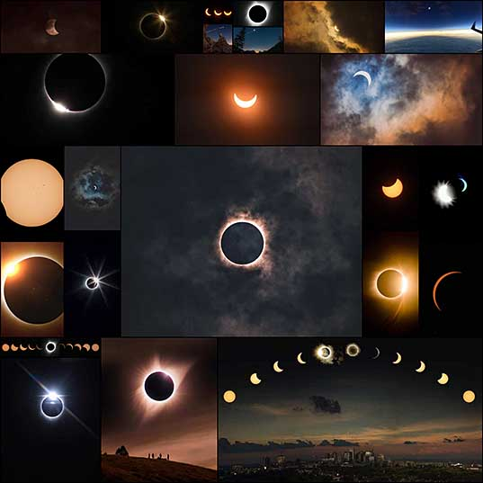 20+ Spectacular Photos of Solar Eclipse That Spanned Across the U
