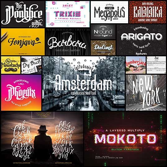 18 Special Fonts for Creative Typography